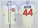 Chicago Cubs #44 Anthony Rizzo Cream 1929 Turn Back The Clock Cool Base Jersey