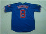 Chicago Cubs #8 Andre Dawson Blue 1994 Turn Back The Clock Jersey