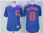 Chicago Cubs #8 Andre Dawson Blue Flex Base Jersey
