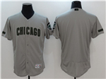 Chicago Cubs Grey 2017 Memorial Day Flex Base Team Jersey