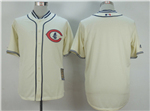 Chicago Cubs Cream 1929 Turn Back The Clock Cool Base Team Jersey