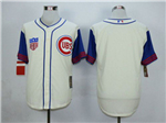 Chicago Cubs Cream 1942 Turn Back The Clock Cool Base Team Jersey