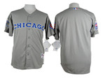 Chicago Cubs Grey 1990 Turn Back The Clock Jersey