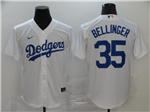 Los Angeles Dodgers #35 Cody Bellinger White 2020 Cool Base Jersey