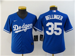 Los Angeles Dodgers #35 Cody Bellinger Youth Royal Blue 2020 Cool Base Jersey
