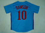 Montreal Expos #10 Andre Dawson Blue 1982 Throwback Jersey