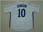 Montreal Expos #10 Andre Dawson 1982 Throwback White Jersey