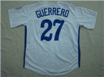 Montreal Expos #27 Vladimir Guerrero 1982 Throwback White Jersey