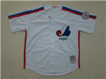 Montreal Expos Throwback White Jersey