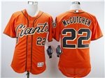 San Francisco Giants #22 Andrew McCutchen Orange Flex Base Jersey