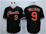 San Francisco Giants #9 Matt Williams Throwback Black Jersey