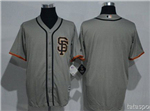 San Francisco Giants Alternate Road Grey Cool Base Team Jersey