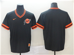 San Francisco Giants Throwback Black Team Jersey