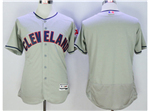 Cleveland Indians Gray Flex Base Team Jersey