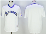 Seattle Mariners White 1984 Turn Back the Clock Team Jersey