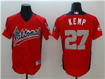 National League #27 Matt Kemp Red 2018 MLB All-Star Game Home Run Derby Jersey