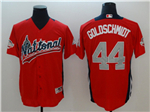 National League #44 Paul Goldschmidt Red 2018 MLB All-Star Game Home Run Derby Jersey