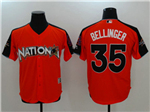National League #35 Cody Bellinger Red 2017 MLB All-Star Game Home Run Derby Jersey