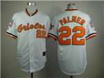 Baltimore Orioles #22 Jim Palmer Throwback White Jersey