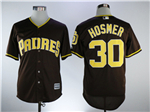 San Diego Padres #30 Eric Hosmer Brown Cool Base Jersey