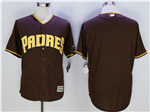 San Diego Padres Brown Cool Base Team Jersey