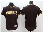 San Diego Padres Brown Flex Base Team Jersey