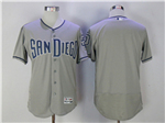 San Diego Padres Grey Flex Base Team Jersey