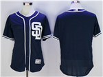 San Diego Padres Navy Flex Base Team Jersey