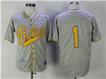 Philadelphia Phillies #1 Chuck Klein 1938 Throwback Gray Jersey