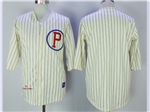 Philadelphia Phillies 1921 Throwback Cream Team Jersey