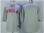 Philadelphia Phillies 1990 Throwback Gray Team Jersey