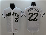 Pittsburgh Pirates #22 Andrew McCutchen White 2017 Memorial Day Flex Base Jersey