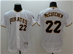 Pittsburgh Pirates #22 Andrew McCutchen White Flex Base Jersey