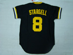 Pittsburgh Pirates #8 Willie Stargell 1979 Throwback Black Jersey