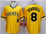 Pittsburgh Pirates #8 Willie Stargell 1979 Throwback Gold Jersey