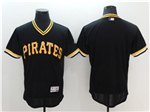 Pittsburgh Pirates Black Cooperstown Flex Base Team Jersey