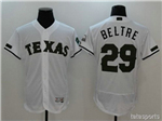 Texas Rangers #29 Adrián Beltré White 2017 Memorial Day Flex Base Jersey