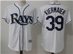 Tampa Bay Rays #39 Kevin Kiermaier White Cool Base Jersey