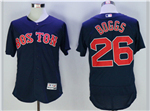 Boston Red Sox #26 Wade Boggs Navy Flex Base Jersey