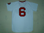 Boston Red Sox #6 Rico Petrocelli 1975 Throwback White Jersey