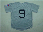Boston Red Sox #9 Ted Williams 1939 Throwback Grey Jersey