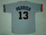 Detroit Tigers #13 Lance Parrish 1984 Throwback Gray Jersey