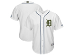 Detroit Tigers White 2018 Memorial Day Cool Base Team Jersey