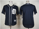 Detroit Tigers Navy Cool Base Team Jersey