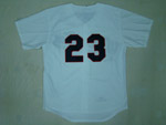 Chicago White Sox #23 Robin Ventura 1990 Throwback White Jersey