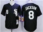 Chicago White Sox #8 Bo Jackson Throwback Black Jersey