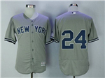 New York Yankees #24 Gary Sanchez Road Gray Flex Base Jersey