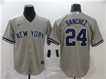 New York Yankees #24 Gary Sanchez Gary 2020 Cool Base Jersey