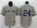 New York Yankees #24 Gary Sanchez Gary Without Name 2020 Cool Base Jersey