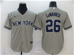 New York Yankees #26 DJ LeMahieu Gary 2020 Cool Base Jersey